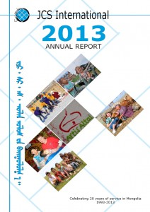 Annual Report 2013 - cover